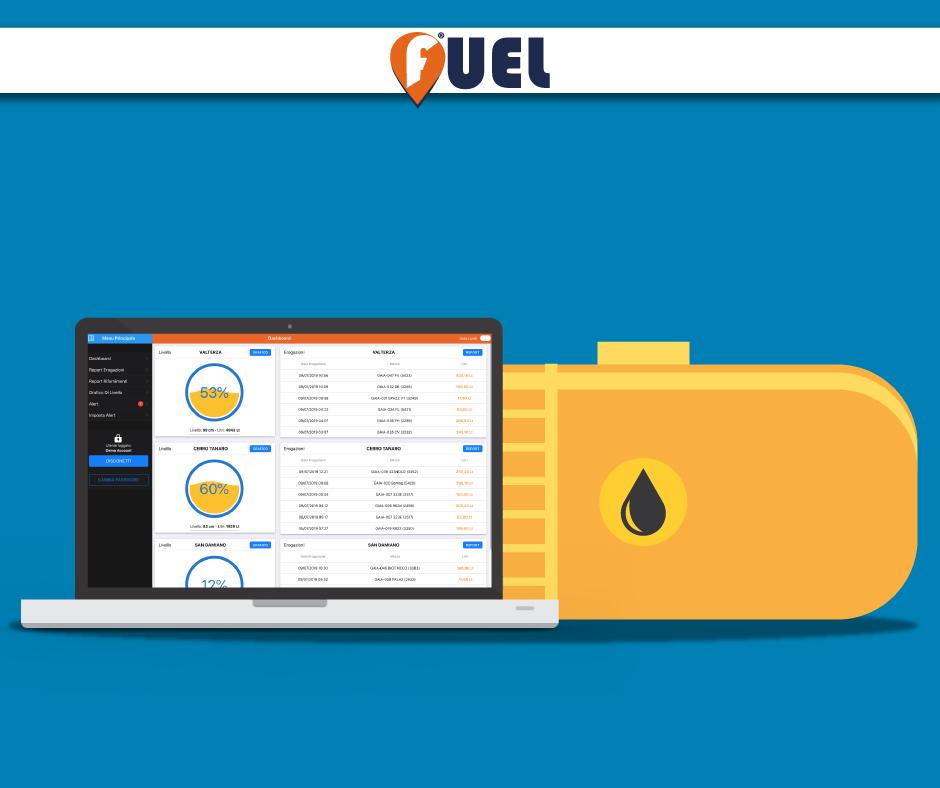 controllo erogazione carburante